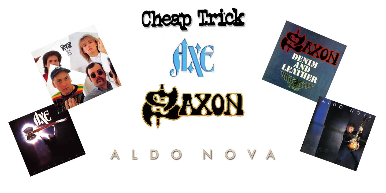 Concert #003 - July 21, 1982 - Cheap Trick HOF [One on One] HOF - Axe  [Offering] - Aldo Nova [Aldo Nova] - Saxon [The Eagle has Landed - Denim  and Leather] - Ector County Coliseum - Odessa, Texas (3)
