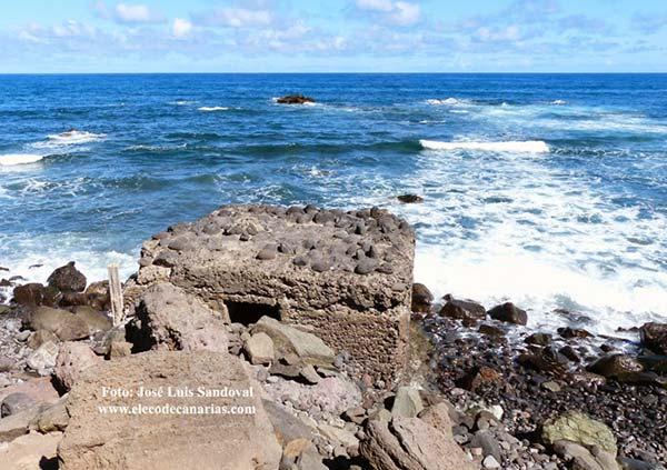 Muere un hombre ahogado en San Andrés en la costa de Arucas, San Andrés