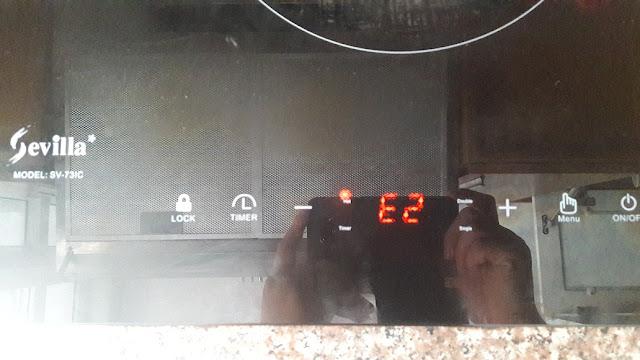 Tự sửa chữa bếp từ khi gặp phải lỗi E2