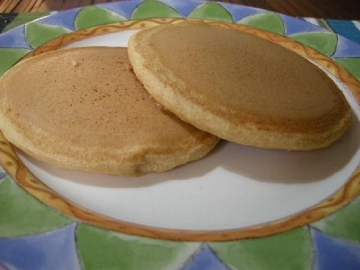 Oil-less Vegan Pancakes
