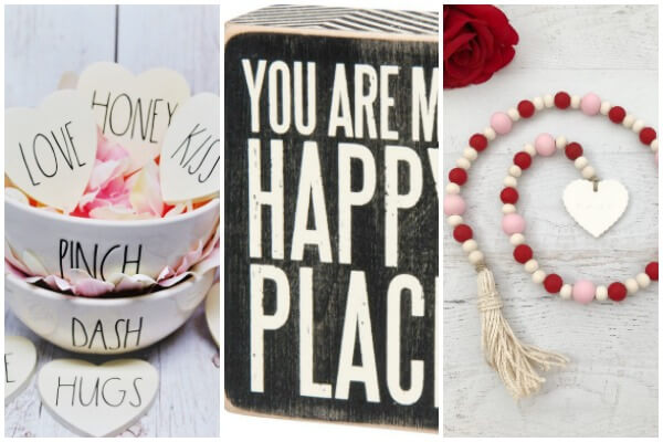 farmhouse Valentines decor
