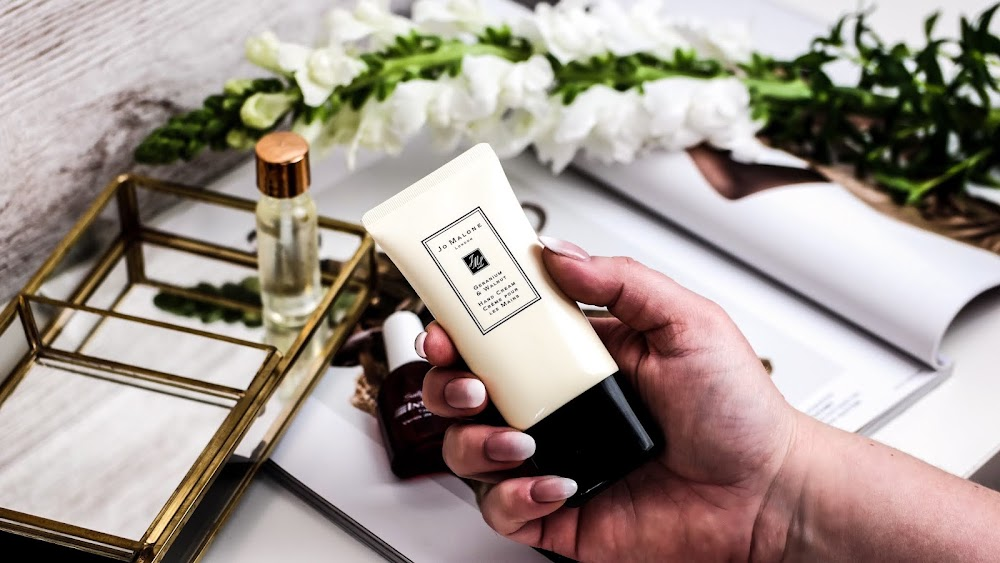 Geranium & Walnut Hand Cream perfekte Pflege der die Hände