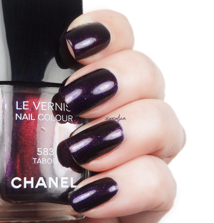 xoxoJen's swatch of Chanel Taboo
