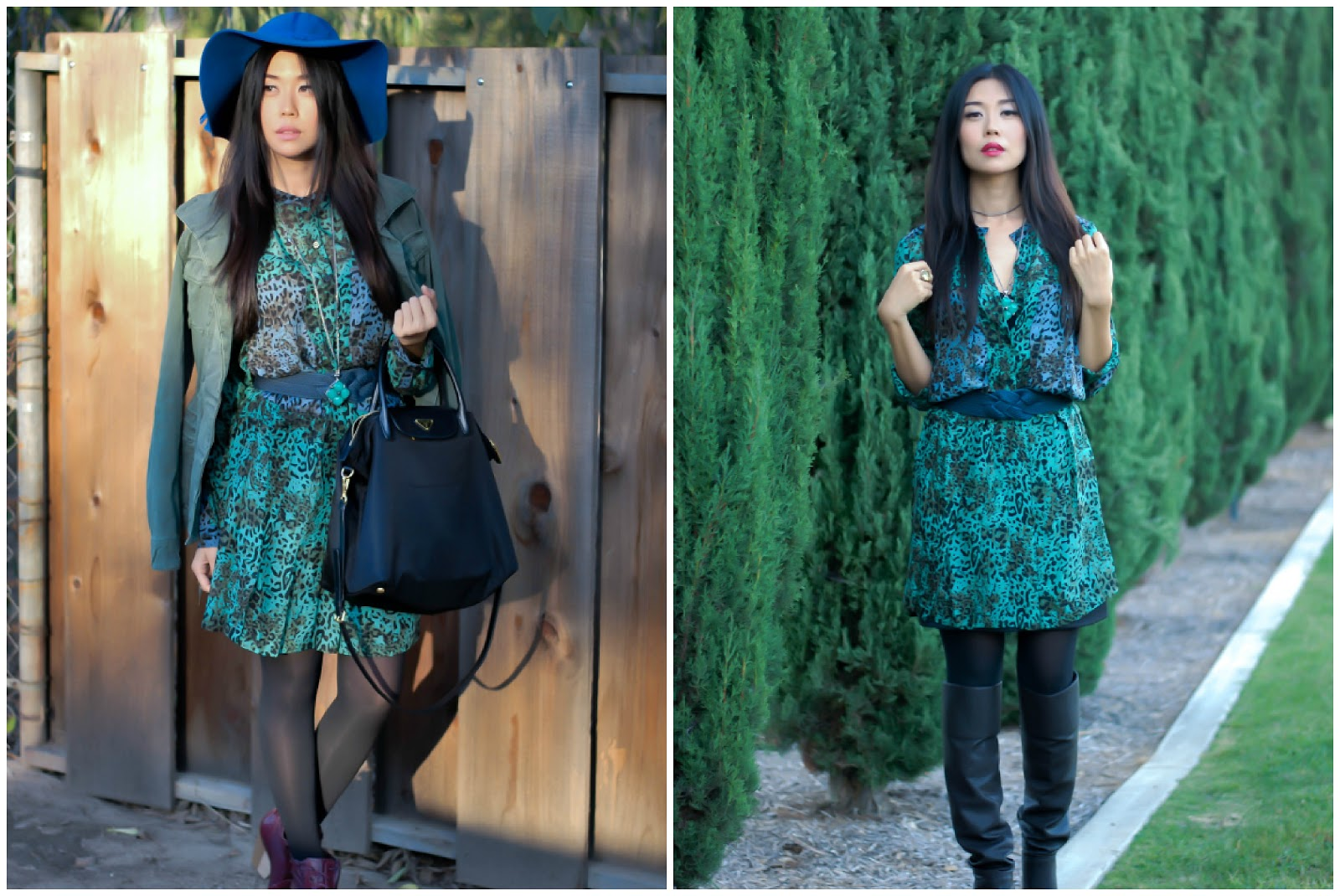Personal Style Outfit Day To Night In Animal Print
