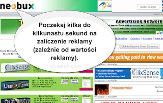 Neobux - wartość reklam