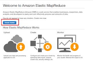 Cluster Amazon EMR