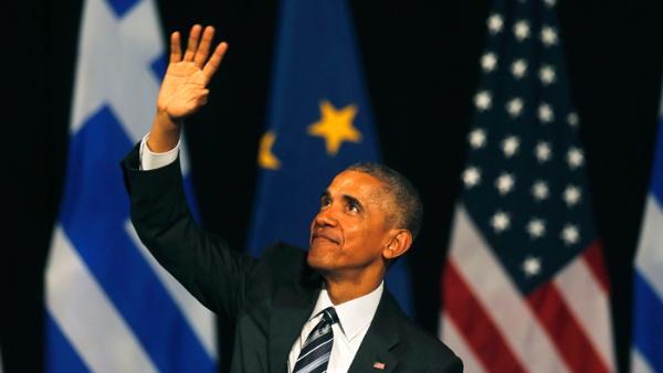 Obama termina visita en Grecia en medio de intensas protestas