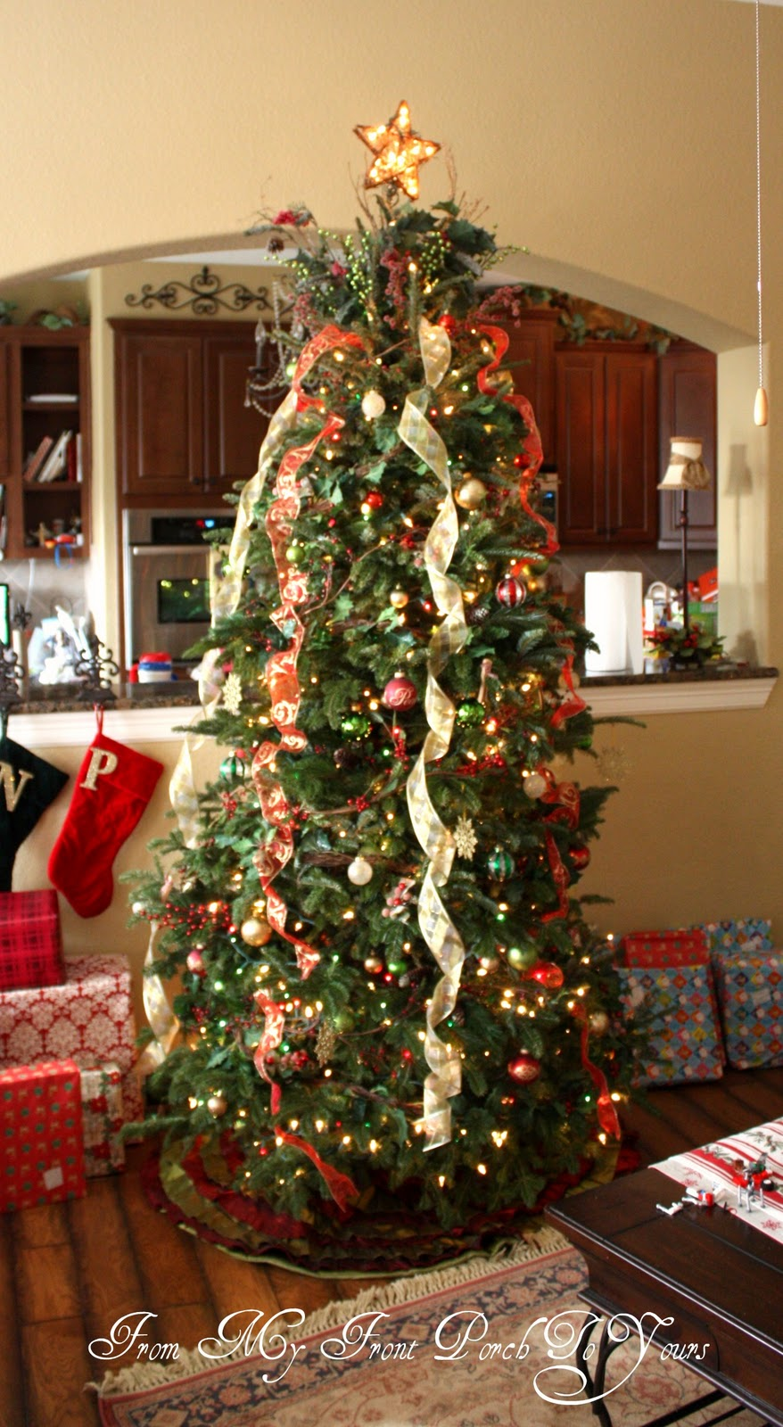 From My Front Porch To Yours: Christmas Tree 2011