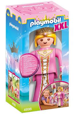 TOYS : JUGUETES PLAYMOBIL Knights : Caballeros 4896 XXL Princess : Princesa | Figura - Muñeco Producto Oficial 2016  Comprar en Amazon España