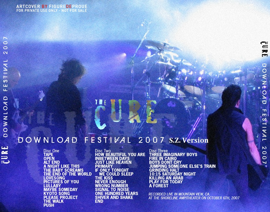 RELIQUARY: Cure, The [2007 10 06] S Z  Version (Download