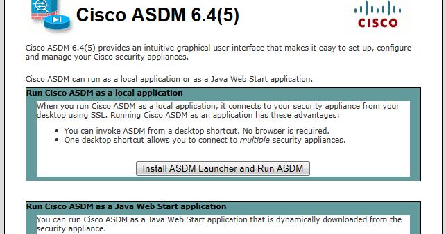 PowerCram: Cisco ASA ASDM Install and Download