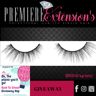#Giveaway | August - Oh, The Places You'll Go! Hop - 3D MINK LASHES Sponsor www.premiereextensions.com salon, hair, beauty, glam, slay, virgin hair, lashes