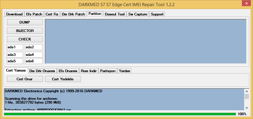 S7 S7 Edge Cert IMEI Repair Tool 1 2 2 ~ DARKMED ELECTRONICS