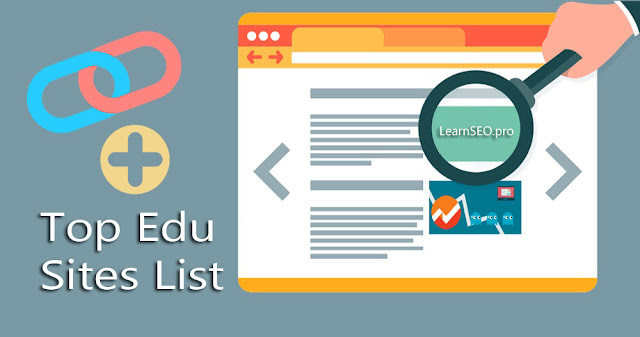 edu sites list