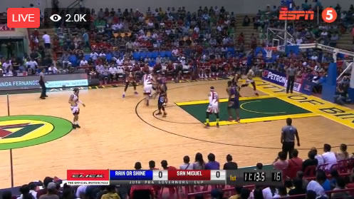 Video Playlist: SMB vs Rain or Shine game replay 2018 PBA Governors' Cup