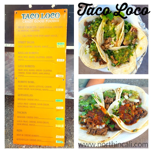 Food Truck Friday : Taco Loco, Redding, California www.northincali.com