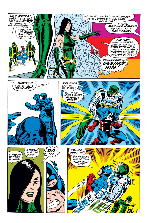 Read online Captain America (1968) comic -  Issue #110 - 16