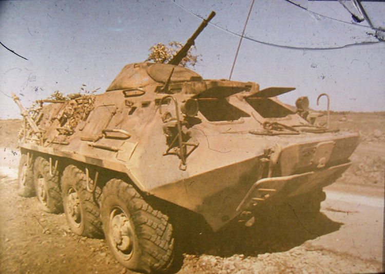 SPW-40 (BTR-40) - Schützenpanzerwagen basierend auf dem GAZ 63 ...