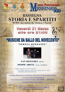 MUSICHE DA BALLO DEL NOVECENTO CON IL SAX DI NAT MINUTOLI