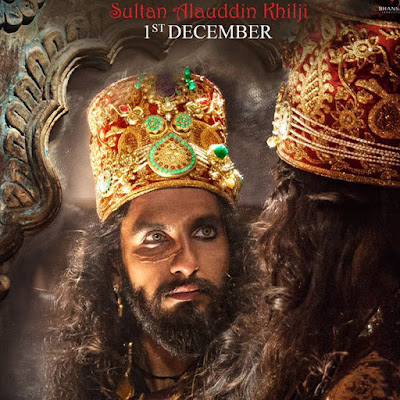 Sultan Alauddin Khilji as Ranveer Singh HD Wallpaper In Padamavati Movie