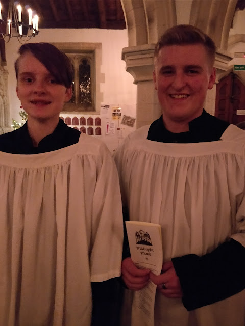 acolytes at Midnight Mass