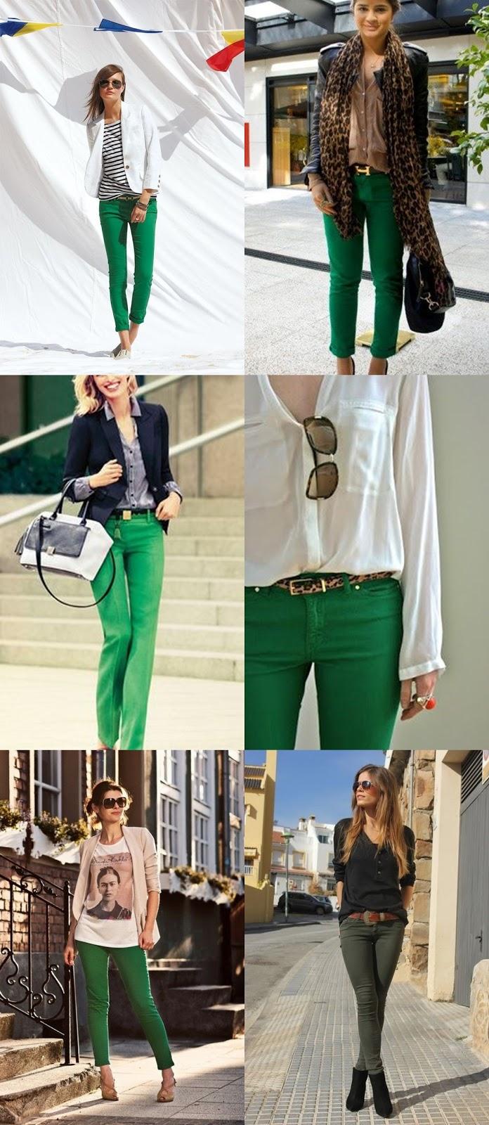 Look do dia: blazer preto, camisa preta e calça verde