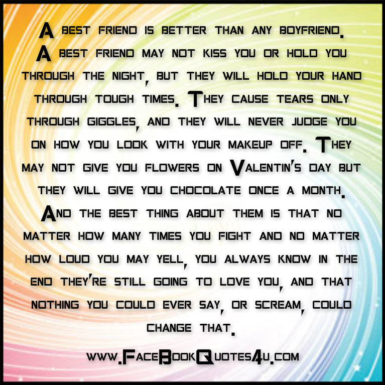 Boyfriend And Bestfriend Quotes Best Friend Quotes