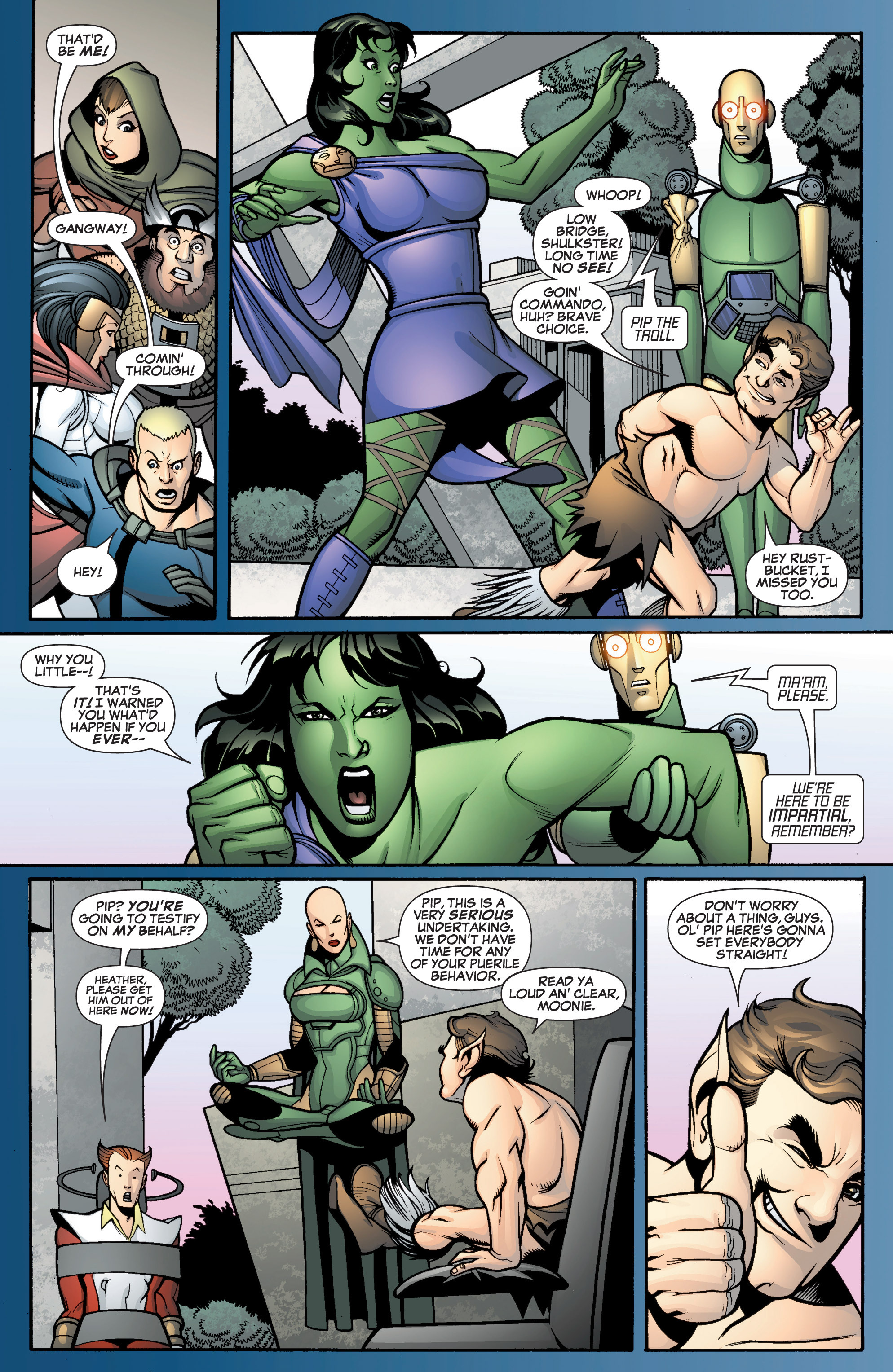 Read online She-Hulk (2005) comic -  Issue #12 - 14