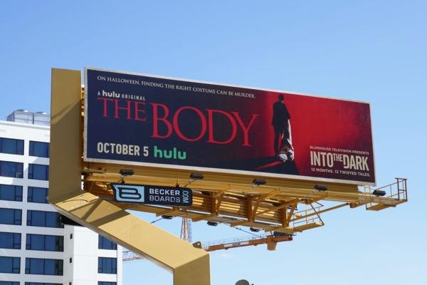 Into the Dark Body billboard