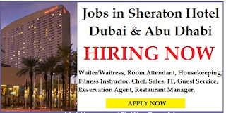 Jobs Sheraton Hotels and Resorts in UAE