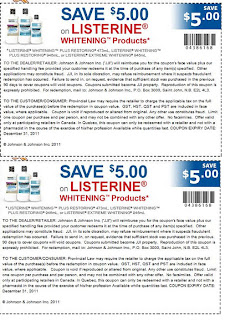 $5 Listerine printable coupon
