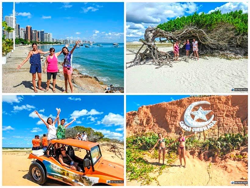Retrospectiva de viagem 2017 - Fortaleza, Jericoacoara. Morro Branco e Canoa Quebrada, Ceará