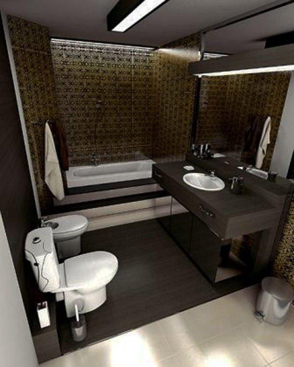 79 Desain Kamar Mandi Kecil Mungil Minimalis Sederhana | Desainrumahnya.com