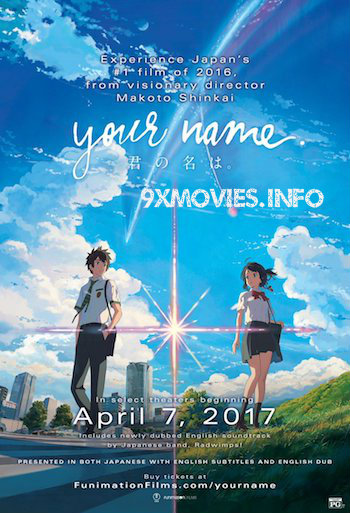 Your Name 2016 Dual Audio Hindi Bluray Movie Download