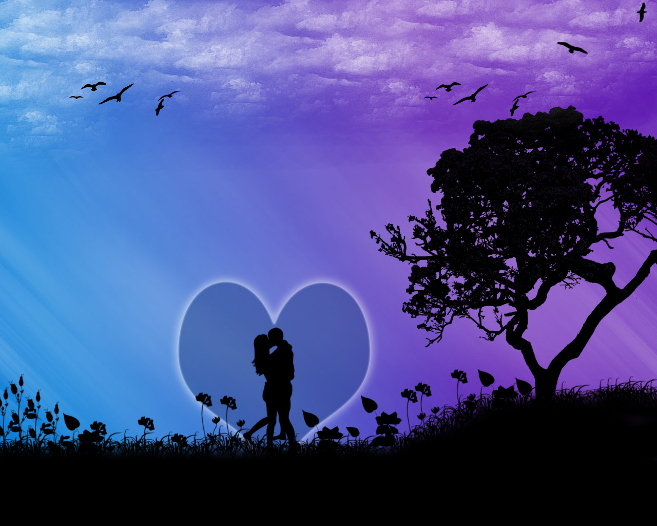 Free Wallpaper Dekstop: Real Love Wallpaper, Love
