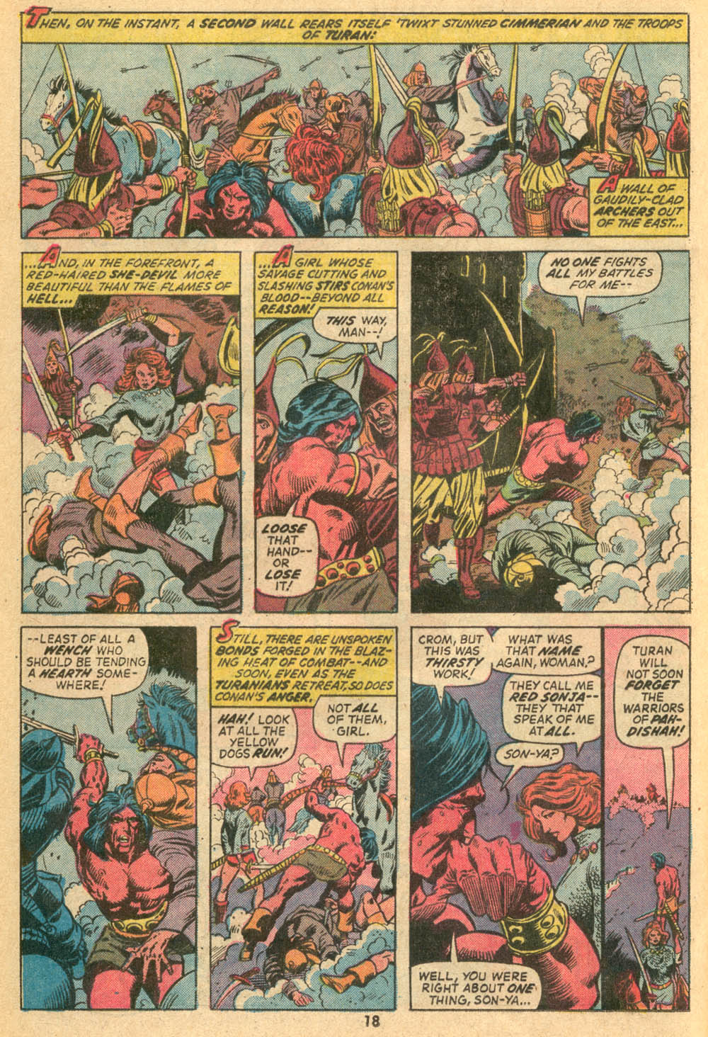 Conan the Barbarian (1970) Issue #23 #35 - English 13