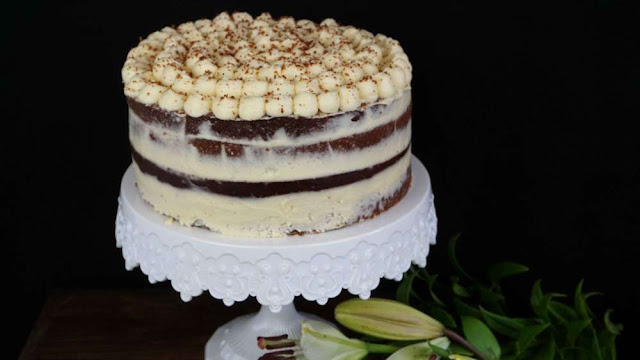 tarta con un ingrediente sorprendente. Layer cake de...