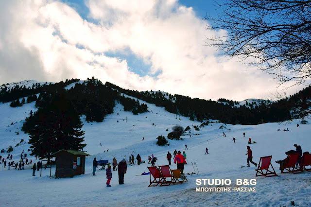 Απολαύστε το χιονοδρομικό κέντρο στο Μαίναλο από ψηλά (βίντεο drone)