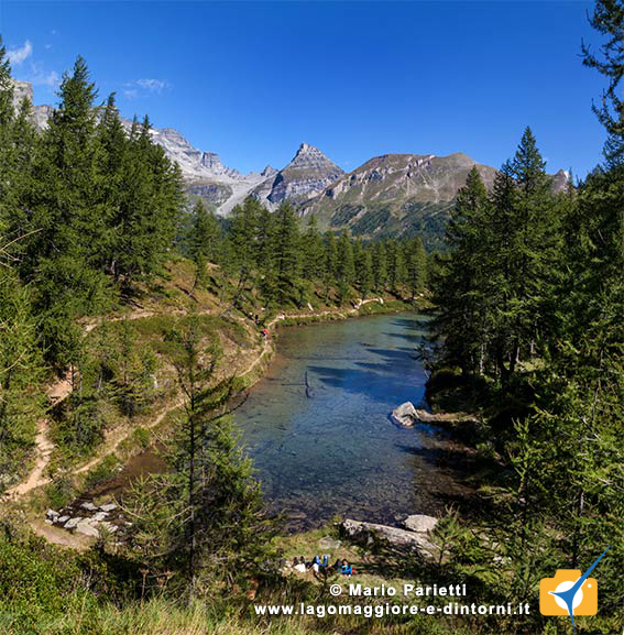 Laghetti delle Streghe all'Alpe Veglia