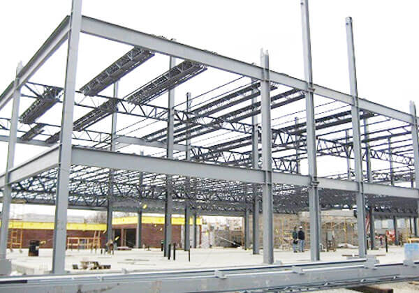 Nhà thép tiền chế kết cấu thép
