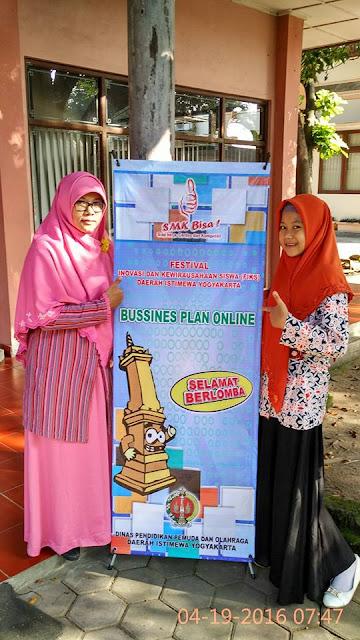 Festival Inovasi Kewirausahaan Siswa DIY Tahun 2016