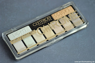 Review: 9 Bloggers Favourites von CATRICE - The Ultimate Chrome Collection Eyeshadow Palette - www.annitschkasblog.de