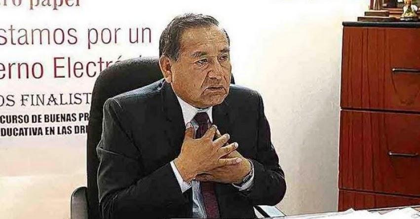 Servir evaluará nueva sanción contra director de la UGEL Arequipa Norte