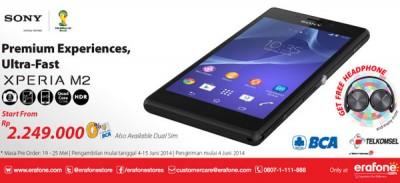 Asiik, Sony Xperia M2 Sudah Bisa di Pesan