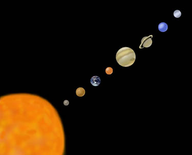 space planets without - photo #31