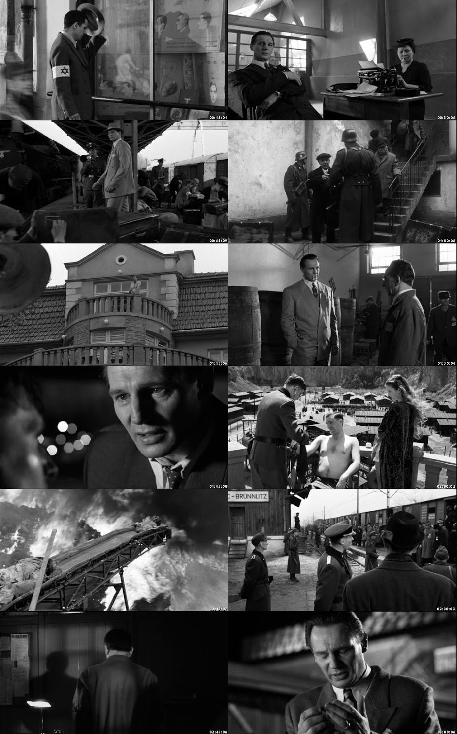 Schindler's List 1993 BRRip 720p Dual Audio In Hindi English