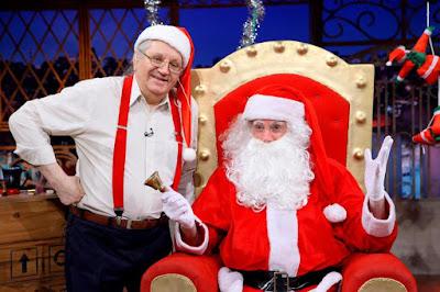 Silvio e Danilo de Papai Noel (Crédito: Lourival Ribeiro/SBT)