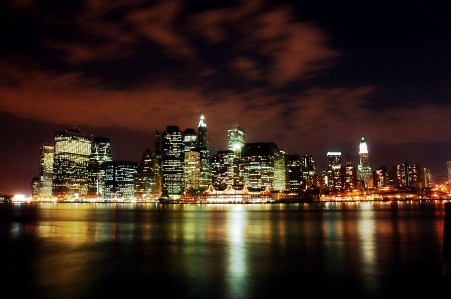 28. Manhattan at Night by Nattapol Pornsalnuwat