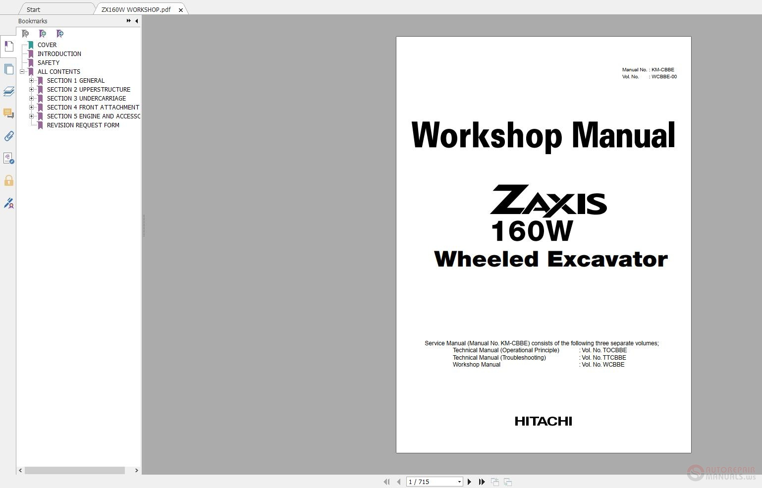 Autorepairsoftware  Hitachi Workshop Technical Manual And