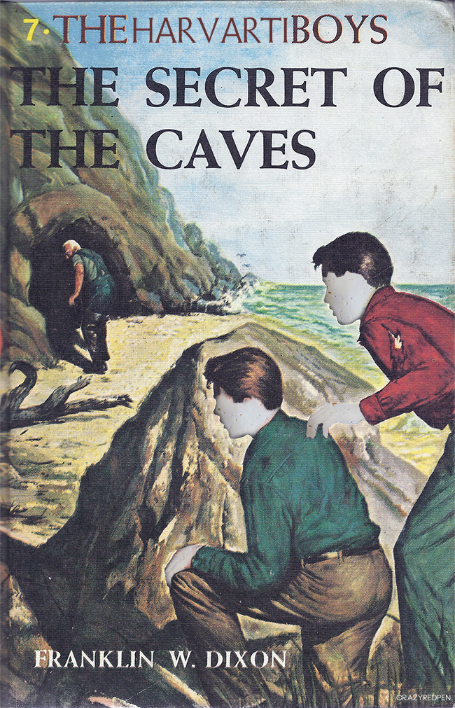 Hardy Boys Literary Pun- Crazy Red Pen